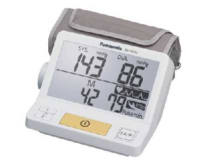 Panasonic EW-BU12W Upper Arm Blood Pressure Meter
