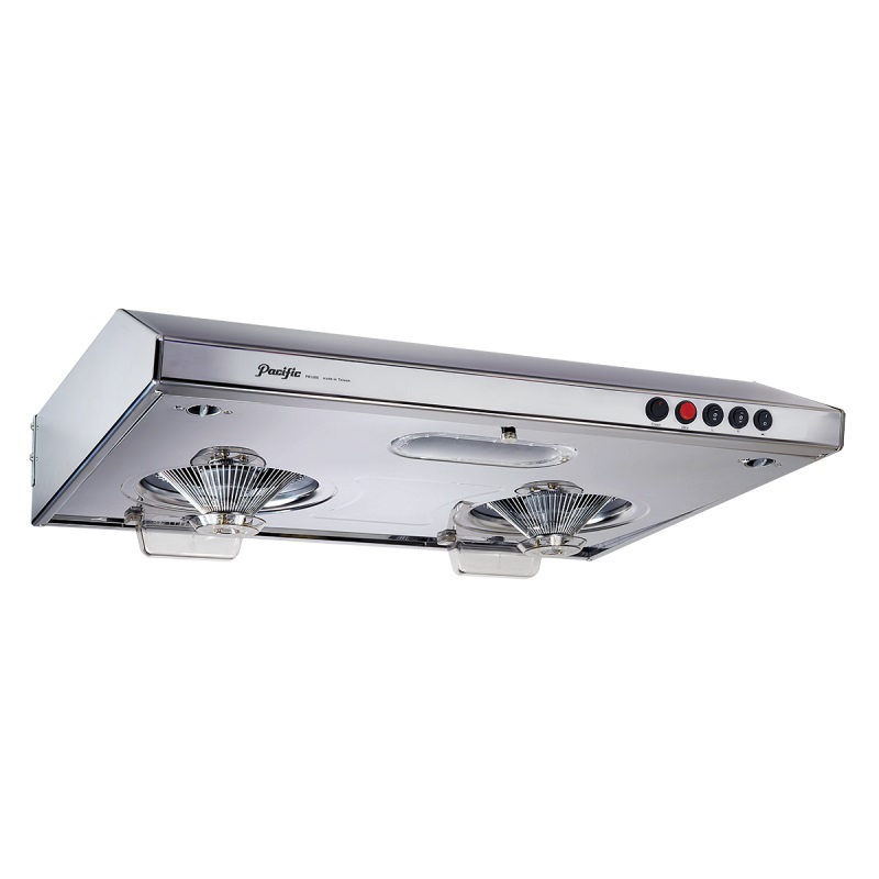 "Pacific PR3268-S70 28"" Easy-Dismantal Auto-Heated-Self-Cleaning Cookerhood Stainless steel)"