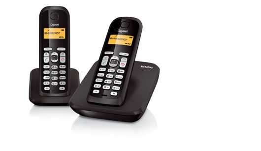 Siemens Gigaset AS300 DUO Digital Cordless Phone (German made)