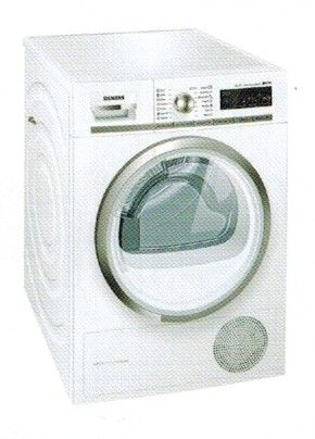 Siemens WT47W540BY 9kg Condensation Dryer