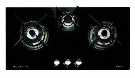 CRISTAL G7301DWT-1 Built-in 3-burner Gas Hob