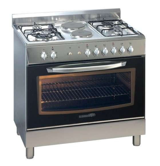 La Germania D98271X Dual Fuel Cooker with Oven