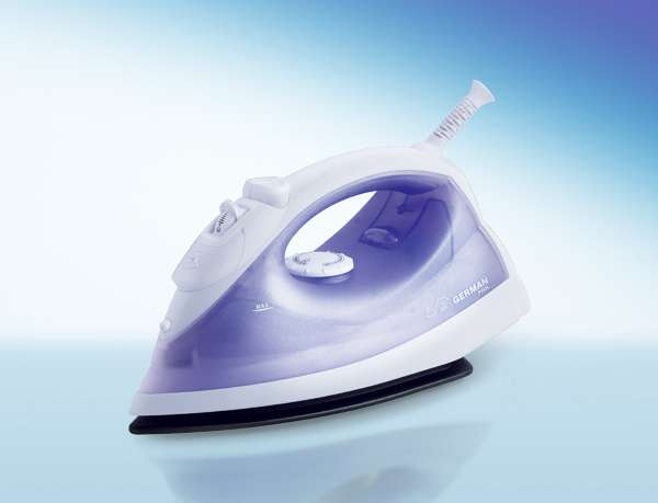 German Pool RT-1120 1440W Steam Electric Iron