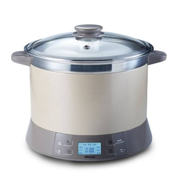 Rasonic RSS-B351CG 3.5L Ceramic Stewing and Soup Pot