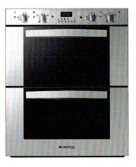 CRISTAL SQUARE Double-decker Built-in Oven