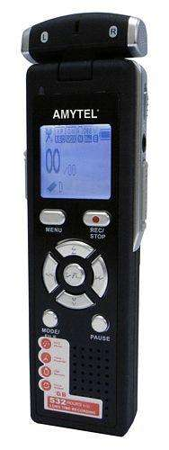 Amytel Memo 703 Plus Professional Digital Voice Recorder (8GB)