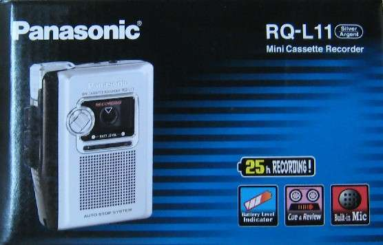 Panasonic RQ-L11 Mini Cassette Recorder