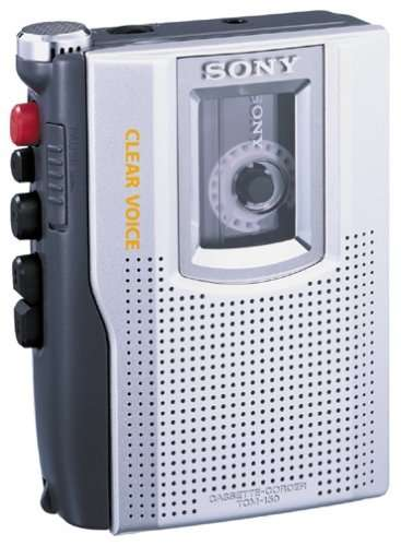 SONY TCM-150 Mini Cassette Recorder