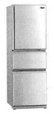 Mitsubishi MR-CX35EM 267-Litre 3-Door Refrigerator