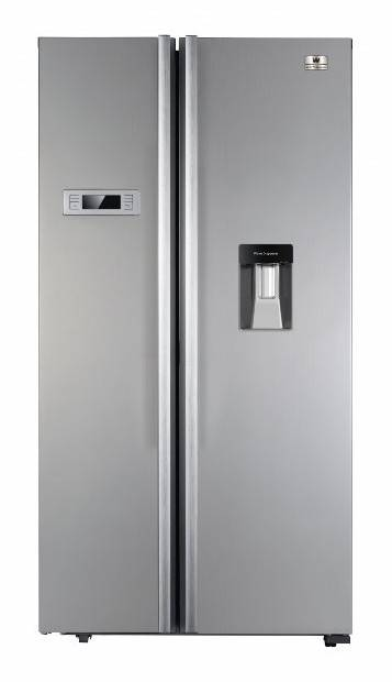 White-Westinghouse WRS517D 514-Litre Side-by-Side Refrigerator with Water Dispenser