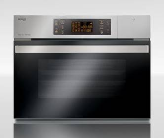 German Pool SGV-5221 52-Litre Built-in 2-in-1 Steam & Grill Oven