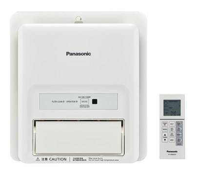 Panasonic FV-30BW2H Window Thermo Ventilator (PTC Remote)