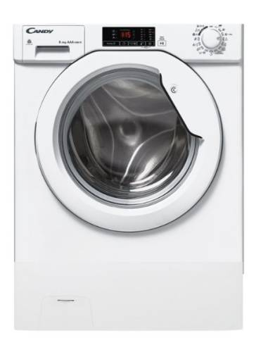 Candy CBUWD8514D-S 8kg(wash)/5kg(dry) 1400rpm Front-Loading Washer-Dryer (820mm Build-Under)