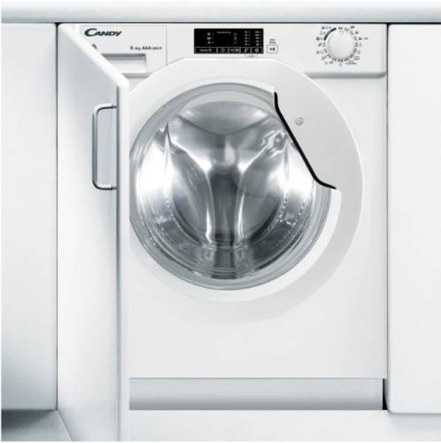 Candy CBWD8514D-S 8kg(wash)/5kg(dry) 1400rpm Front-Loading Washer-Dryer (820mm Build-In model)
