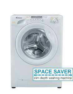 Candy GO4W264D-UK 6kg 1200rpm Front Loading Washer-Dryer