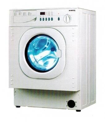 CRISTAL WD1200FMW 6kg 1200rpm Built-In Front Load Washer-Dryer