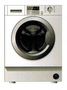 CRISTAL WDC1260FMW 6kg 1200rpm Front Loading Washer-Dryer