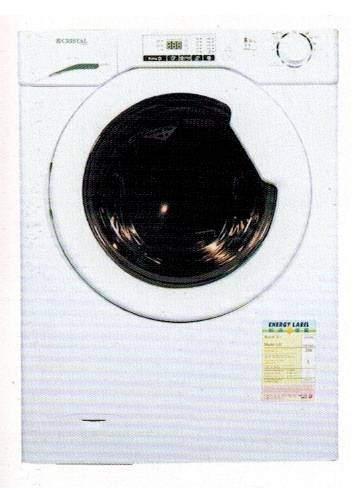 CRISTAL WDC1400FS 8kg(wash)/5kg(dry) 1400rpm Front Loading Washer-Dryer (Height: 820mm)