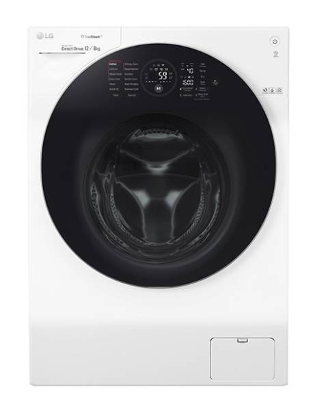 LG G-CS1612W 12kg 1600rpm 3-in-1 TrueSteam Washer-Dryer