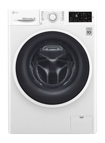 LG WF-1206C4W 6kg 1200rpm Front Loading Washer