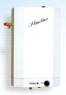 German Pool GPU-8SL 8-Gallon Slim Central-type Storage Water Heater