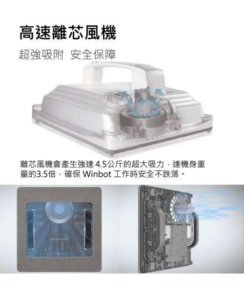 ECOVACS W830 Winbot (Window Robotic Cleaner)