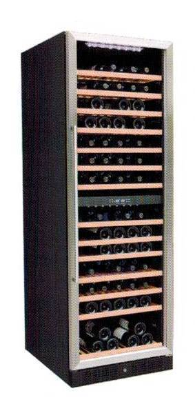 CRISTAL CW-168DES-1 154-Bottle Dual-Zone Wine Cellar