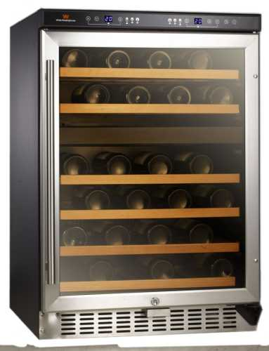 White-Westinghouse WC46DEX 46-Bottle Dual Zone Wine Cellar